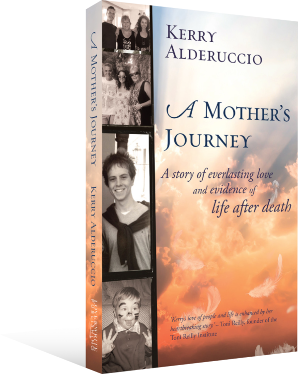 Book Cover 3D A Mothers Journey