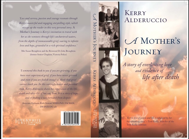 A Mothers Journey Front and Back Covers