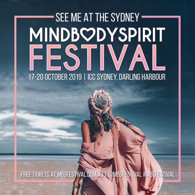 Mind Body Spirit Festival Promotion Cover